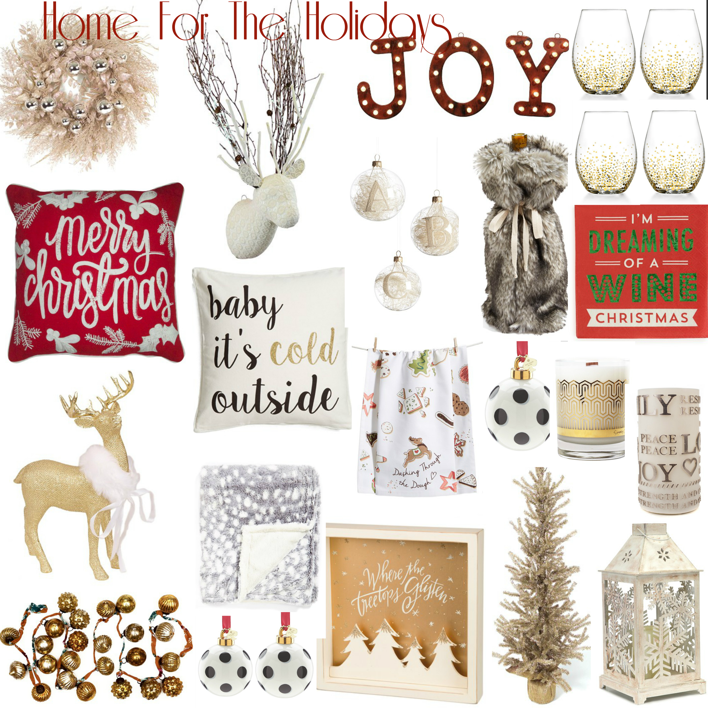 holidayhomedecorCollage