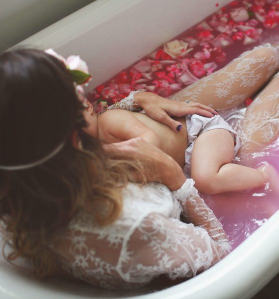 Milk Bath Photoshoot